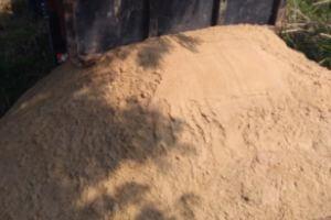 areia lavada